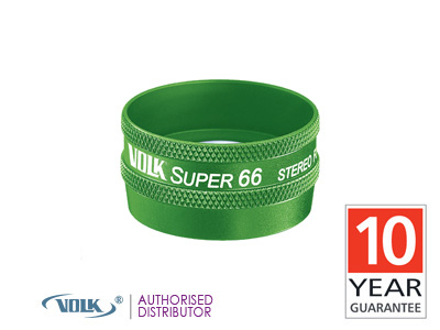 Volk Super 66 (Green)<br>Double Aspheric