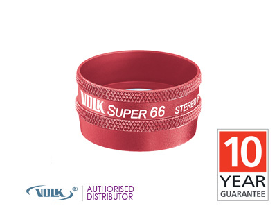 Volk Super 66<br>(Red)<br> Double Aspheric