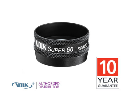Volk Super 66 (Black)<br> Double Aspheric