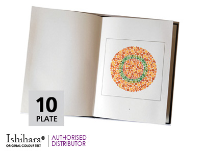 Ishihara Infant/Pediatric Colour Test  <br>(10 Plate)