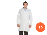 Gents Full Length White Lab Coat