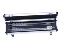Complete Horizontal and Vertical Prism Bar Set with Aluminium Case
