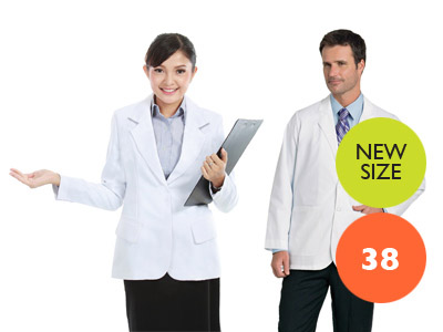 Ladies & Gents Unisex Optical Lab Jacket